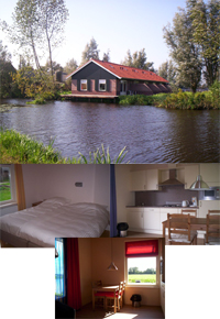 Bed and Breakfast, in Kamerik Nederland